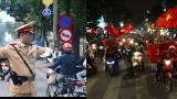 """Gặp anh CSGT gây sốt với clip """"vừa phân luồng vừa đập tay mọi người"""" để ăn mừng chiến thắng của U23 Việt Nam"""