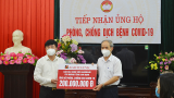 Agribank Chi nhánh tỉnh Nam Định ủng hộ phòng chống dịch COVID-19 200 triệu đồɴɢ