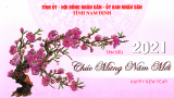 Lời Chúc Mừng Năm Mới Tân Sửu – 2021 của đồɴɢ chí Chủ tịch UBND tỉnh Nam Định