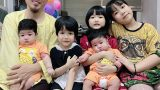 Danh Hài Vượng Râu Nam Định lo lắng kinh tế khi có 5 con