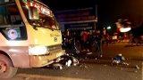 Nam Định: Xe khách va chạm 2 xe máy, 3 người thương vong