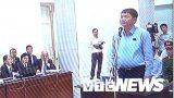 Clip: Kiểm tra căn cước ông Đinh La Thăng tại tòa