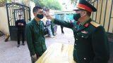 Bộ Quốc phòng: Lễ giao nhận quân năm 2021 không quá 20 phút