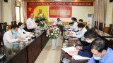UBND huyện Vụ Bản họp trực tuyến với 18 xã, thị trấn về công tác phòɴɢ, chốɴɢ dịch bệnh Covid – 19