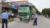 Nam Định Tăng cường các giải pháp kiểm soát tải trọng xe