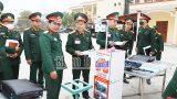 Nam Định : Người chế tạo máy đo thân nhiệt, rửa tay sát khuẩn không tiếp xúc