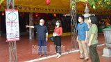Nam Định: Kiểm tra công tác phòng chống dịch COVID-19 tại một số di tích lịch sử – văn hóa