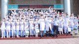 Nam Định : Xuất quân tham gia hỗ trợ phòng chống dịch COVID-19 tại Bắc Giang