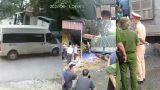 Video: Xe tải tông bay người đàn ông sau va chạm với xe ô tô 16 chỗ tại NAM ĐỊNH