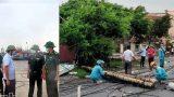 Nam Định Bão số 2 gây thiệt hại ban đầu hơn 2,73 tỷ đồng