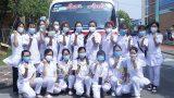 235 cán bộ, sinh viên Trường Đại học Điều Dưỡng Nam Định lên đường tham gia phòng, chốɴɢ dịch COVID-19 tại tỉnh Đồng Nai