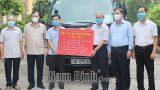 Tỉnh Nam Định ủng hộ 6 tỷ đồng cùng 100 nghìn khẩu trang y tế hỗ trợ 5 tỉnh, thành phố phía Nam phòng, chống dịch COVID-19