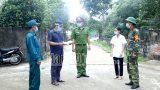Nam Định : Vụ Bản – Thiết lập vùng cách ly y tế thôn Liên Xương, xã Hiển Khánh