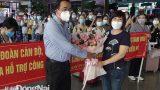 TP.Biên Hòa tiếp đón Đoàn cán bộ, giảng viên, sinh viên Trường đại học Điều dưỡng Nam Định đến hỗ trợ phòng, chống dịch