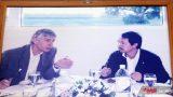 Bầu Đức và giáo sư Hồ Ngọc Đại