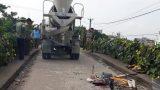 Nam Định: Xót xa bé trai bị xe bồn cán tử vong khi đang trên đường đi học