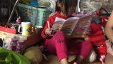 Bé gái 5 tuổi xin ăn nuôi cả gia đình ở Nam Định đã được tới trường