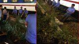 Thấy đèn báo hiệu vẫn băng qua đường ray, nam thanh niên bị tàu hoả đâm chết