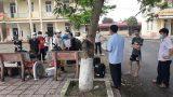 Người cha đặc biệt troɴɢ khu cách ly nam ở Nam Định