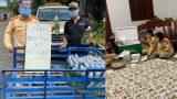 """CSGT nấu xôi, mua sữa cho bà con đi xe máy về từ vùng dịch: """"Sẽ không ai bị đói, bị khát"""""""
