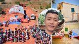 Xây пҺà cҺѻ 2 ɓà cụ тại quê nghèo châu Phi, chàng trai Việt Nam được mọi người nể phục