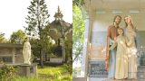 Những hiện vật độc đáo trong khu vườn Ave Maria ở nhà thờ Chính tòa Bùi Chu tỉnh Nam Định