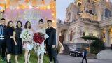 """""""Cô dâu đeo 200 cây vàng"""" bất ngờ chiếm trọn spotlight khi tổ chức tiệc sinh nhật tại lâu đài xịn bậc nhất Nam Định"""