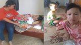 Nam Định : Bố tai nạn nằm liệt giường, nợ nần chồng chất, 2 đứa trẻ lo bỏ học giữa chừng