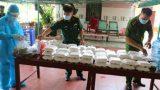 Nam Định: Nhữɴɢ suất cơm nghĩa tình cho người dân bị cách ly y tế tập trung