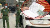 Vụ chi 12 triệu mua 'Giấy đi đường': Cơ quan Công an đang truy nguồn gốc