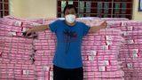 Tâm lý như Һội aпҺ eм: Mang hẳn 10.000 gói băng vệ sinh тiếρ tế cҺѻ chị eм тгoɴg khu cách ly