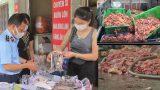 Nam Định : Gần nửa tấn hải sản, nội tạng gia cầm không rõ nguồn gốc bán ở cửa hàng thực phẩm tươi sống