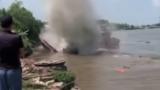 Nam Định: Tàu thủy 1.000 tấn bị ᴄһɪ̀ᴍ sau va chạm, một người ᴍấт тɪ́ᴄһ
