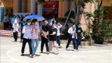 Thí sinh thuộc diện F2 thi phòng riêng trong kỳ thi vào lớp 10 tại Nam Định