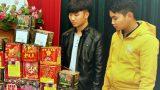 Hai thanh niên mua 31,5kg pháo nổ…mừng tiệc tân gia