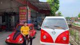 Nam Định: Nam sinh lớp 12 lắp ráp thành công ô tô chạy bằng năng lượng mặt trời, chở được 12 người